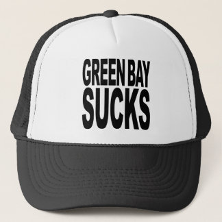 Green Bay Sucks Trucker Hat