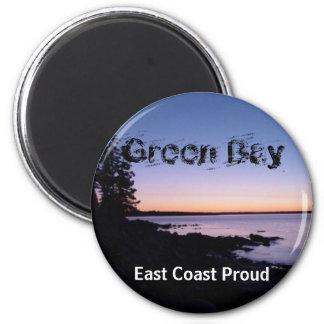 Green Bay Sunset Magnet