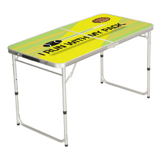 GREEN BAY TAILGATER PACK by Slipperywindow Beer Pong Table