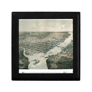 Green Bay Wisconsin 1867 Gift Box