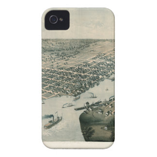 Green Bay Wisconsin 1867 iPhone 4 Case