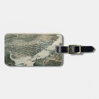 Green Bay Wisconsin 1867 Luggage Tag