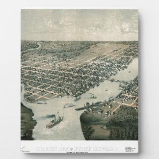 Green Bay Wisconsin 1867 Plaque