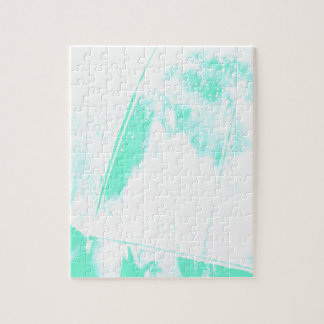 Green Beach Palm Puzzles