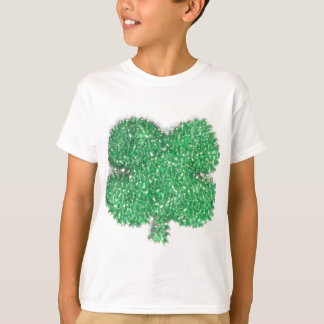 Green Bead Shamrock T-Shirt