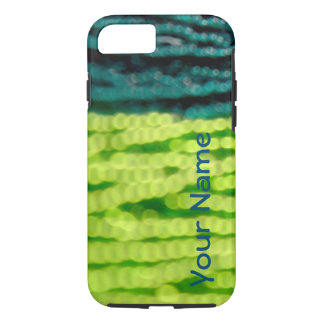 Green Beads Abstract Phone Case -- Customizable