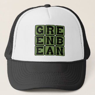 Green Bean, Vegetable Trucker Hat