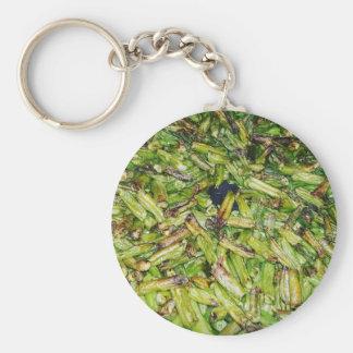 Green  Beans... Key Ring