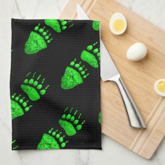 Green Bear Paws - Kitchen Towel
