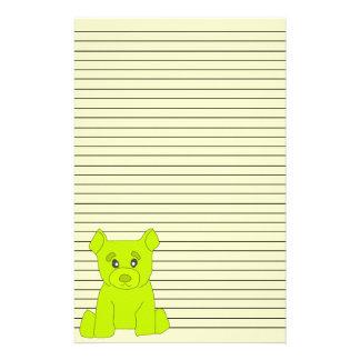 Green Bear Stationery