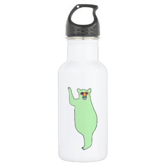 Green Bear Water Bottle