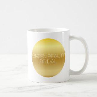 Green Beauty Bridal Logo Mug