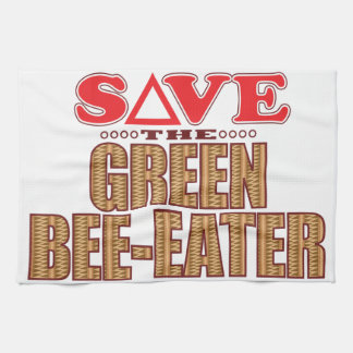 Green Bee-Eater Save Kitchen Towel
