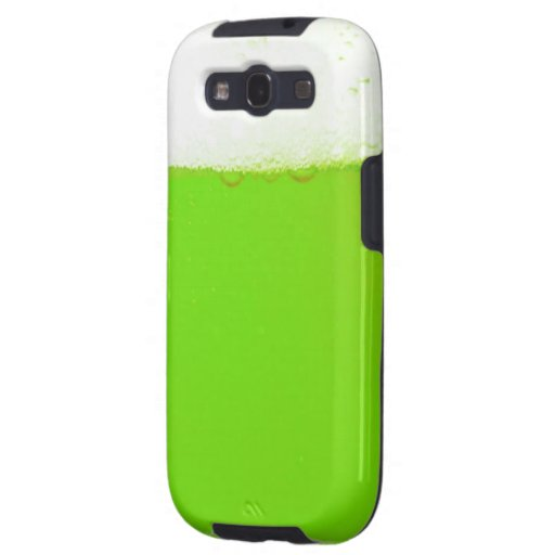 Green Beer Samsung Galaxy S3 Cases