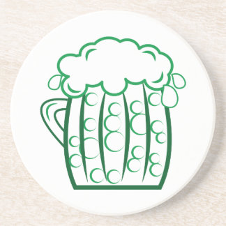 Green Beer Coasters
