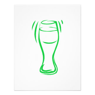 Green Beer Personalized Invites