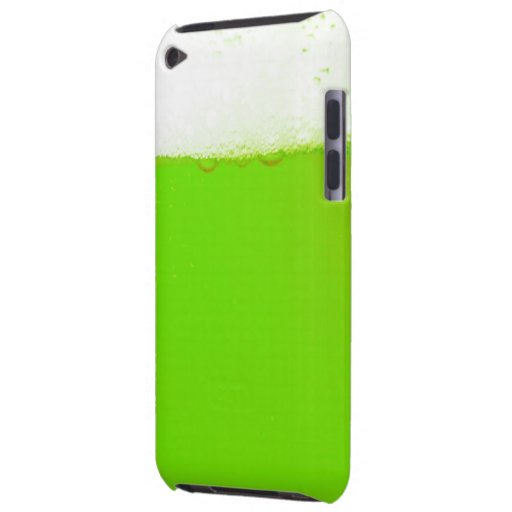 Green Beer iPod Touch Protection Case Barely There iPod Case