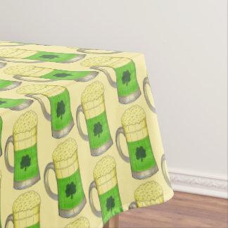 Green Beer Irish Shamrock St. Patrick's Day Tablecloth