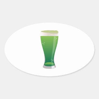 Green Beer Stickers