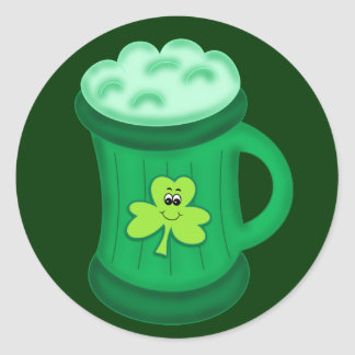 Green Beer sticker