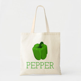 Green Bell Pepper Tote Bag