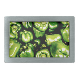 Green Bell Peppers Belt Buckles