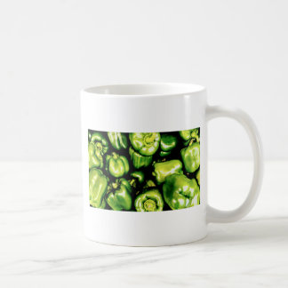 Green Bell Peppers Coffee Mug