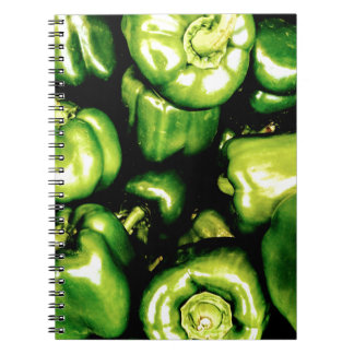 Green Bell Peppers Notebook
