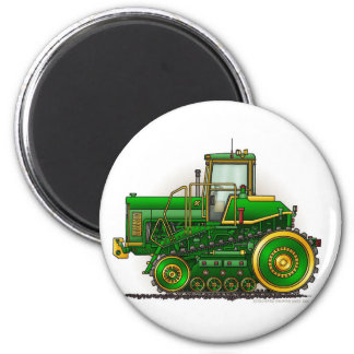 Green Big Dozer Tractor Magnets