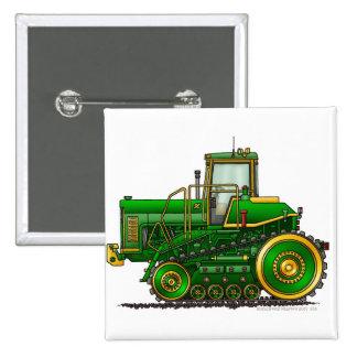 Green Big Dozer Tractor Pins
