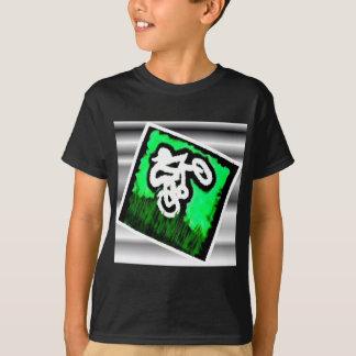 Green Bike Rider T-Shirt