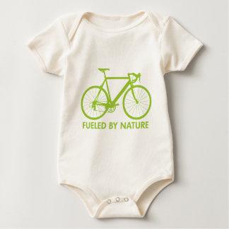 Green Biofuel Bike Baby Bodysuit