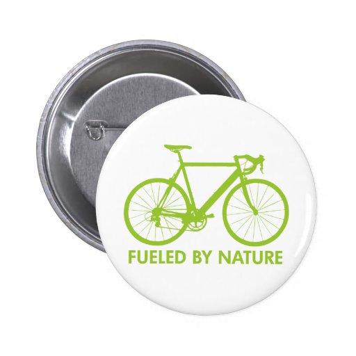 Green Biofuel Bike Pin