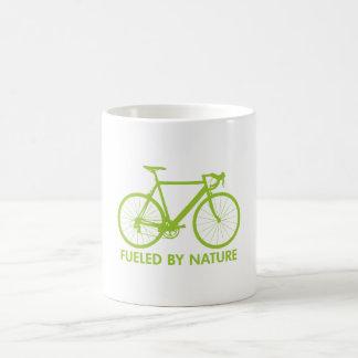 Green Biofuel Bike Basic White Mug