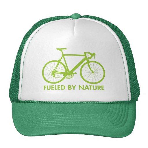 Green Biofuel Bike Mesh Hats