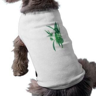 Green Bird Dog Tee Shirt