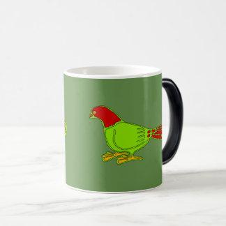 green birds magic mug