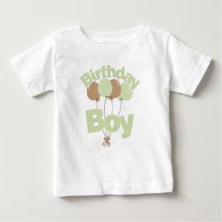 Green Birthday Boy Baby T-Shirt