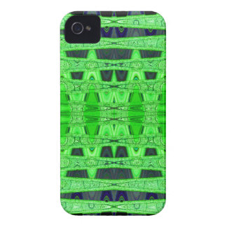 green black abstract iPhone 4 Case-Mate case