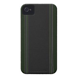 Green & Black Carbon Fiber iPhone 4 Case
