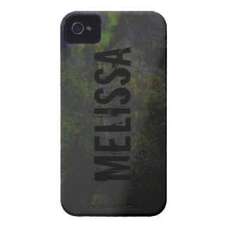 Green Black Cool Grunge Rock Blackberry Phone Case iPhone 4 Covers