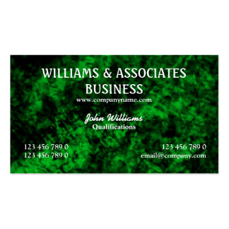 Green black interior design art pack of standard business cards