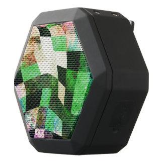 Green & Black Wavy Modern Design Black Boombot Rex Bluetooth Speaker
