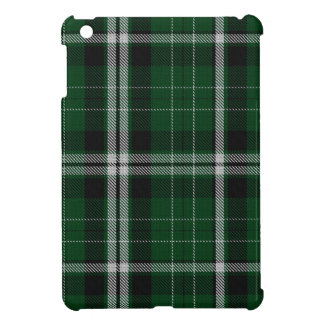 Green Black White Giant Tartan Plaid Cover For The iPad Mini