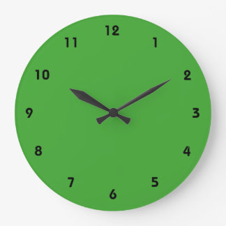 Green Blank Custom Template Clocks
