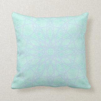 green blue cushion