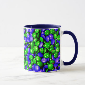 Green & Blue Dummies coffee mug