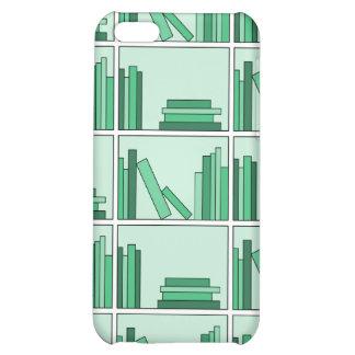 Green Books on Shelf. iPhone 5C Case