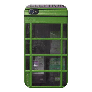 green booth 4 casing iPhone 4 covers