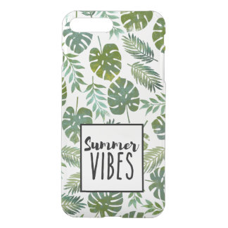 Green botanical leaf iPhone 8 plus/7 plus case
